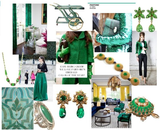 Emerald Blog Board