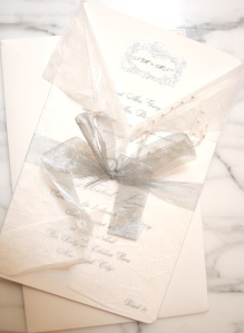 The invitation that inspired our Signature Garland Collection