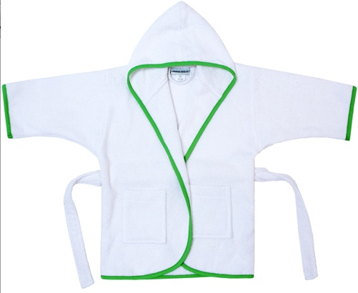 American Terry Co. Monogram boy robe