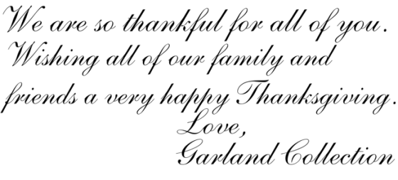 Thanksgiving Note